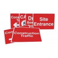 Construction Sign Starter Packs - Vehicle Navigation