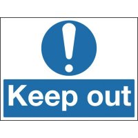 Construction Signs - Keep Out