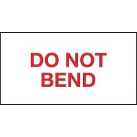 Packaging Labels - Do Not Bend