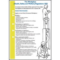 Wallchart/Pocket Guide Workplace Health, Safety, Welfare