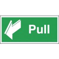 Pull & Arrow Forward Signs