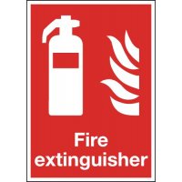 Fire Extinguisher (Symbol) Signs