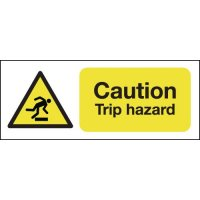 Caution Trip Hazard Signs