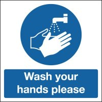 Wash Your Hands Please Signs
