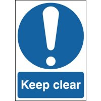 Keep Clear Window Fix Signs