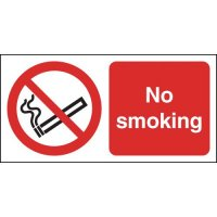 Deluxe Aluminium No Smoking Signs