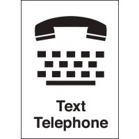 Text Telephone Signs
