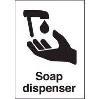 Soap Dispenser Sign