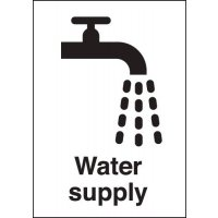 Water Supply Sign