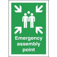 Emergency Assembly Point Signs
