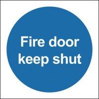Fire Door Keep Shut Window Fix Signs