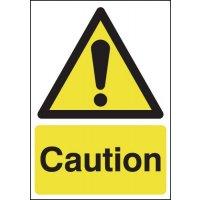Caution Hazard Warning Window Fix Signs