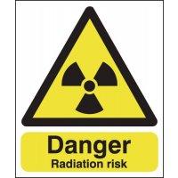 Danger Radiation Risk Signs