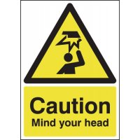 Caution Mind Your Head Signs