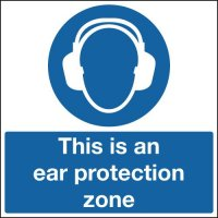 This Is An Ear Protection Zone Sign