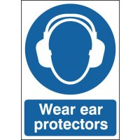Wear Ear Protectors Signs