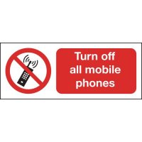 Turn Off All Mobile Phones Signs