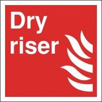 Dry Riser Signs