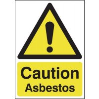 Caution Asbestos Signs