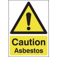 Caution Asbestos Signs