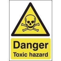 Danger Toxic Hazard Signs