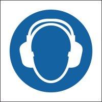 Ear Protectors (Symbols) Sign