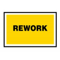 Rework - Quality Assurance Sign