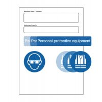 PPE At Point of Need Signs - MAP Authorised Users Kit