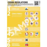 COSHH Regulations Guidance Poster