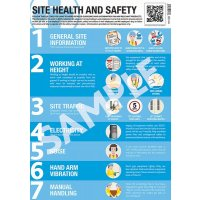 Site Health and Safety Guidance Poster