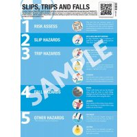 Slips Trips and Falls Guidance Poster