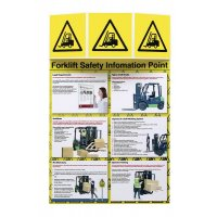 Forklift Truck Safety Information Point