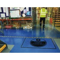 Protective Clothing Must Be Worn Highly Visible Mats