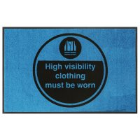High Visibility Clothing Must Be Worn Mats