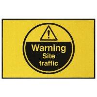Warning Site Traffic Highly Visible Mats