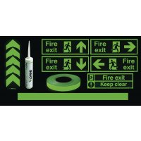 Photoluminescent Essential Corridor/Room Kit