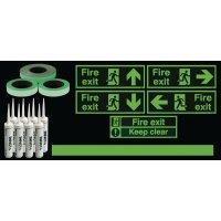 Photoluminescent Essential Stairway Kit