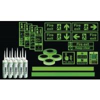 Photoluminescent Standard Stairway Kit