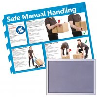 Snap Frame & Manual Handling Poster Bundle