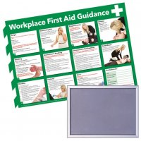 Snap Frame & First Aid Poster Bundle