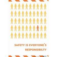 Health and Safety is Everyone's Responsibility Poster