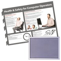 Snap Frame & Computer Operator Health and Safety Poster Bundle