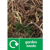 Garden Waste - WRAP Household Organic Waste Pictorial Signs