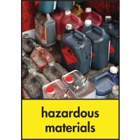 Hazardous Waste - WRAP Hazardous Waste Recycling Pictorial Signs