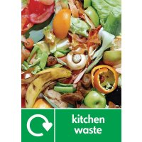 Kitchen Waste - WRAP Household Organic Waste Pictorial Signs