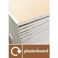 Plasterboard - WRAP Building Waste Recycling Pictorial Signs