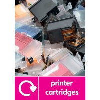 Printer Cartridges WRAP Electrical Recycling Pictorial Signs