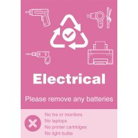 Electrical - WRAP Yes/No Symbol Sign