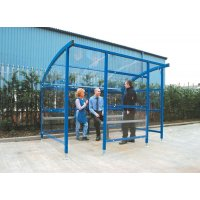 Arched Roof Smoking & E-Cigarette Shelters