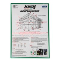 Scafftag® Scaffold Inspection Guide Poster